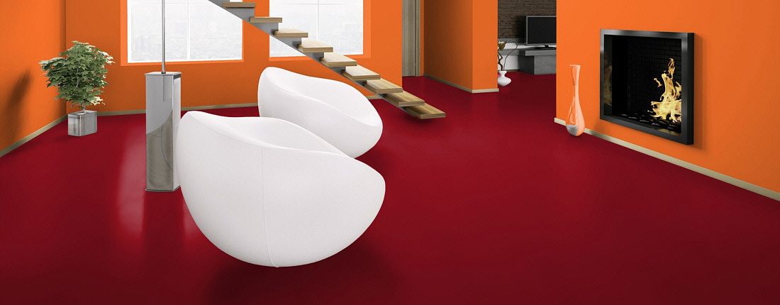 Wineo Laminat Color red rot