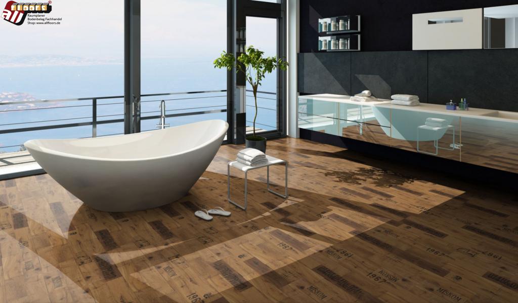 Echter Holzparkett Bodenbelag strahlt  Exklusivität und Nachhaltigkeit aus. Parador Trendtime 8 Parkett im allfloors-Raumplaner