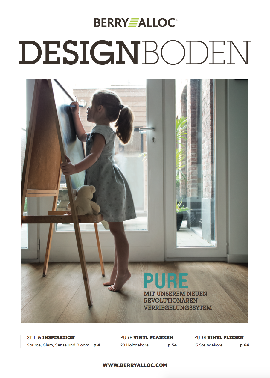 Berry Alloc Pure Click 40 Designbelag Katalog Broschüre